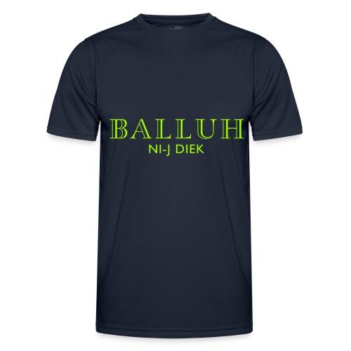 BALLUH NI-J DIEK - navy/neon - Functioneel T-shirt voor mannen