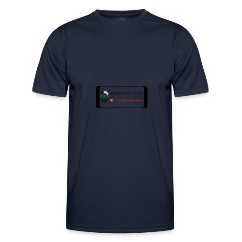 Galaxy S8 by Ronny's Vlog - Männer Funktions-T-Shirt