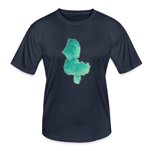 grünes Küken - Männer Funktions-T-Shirt