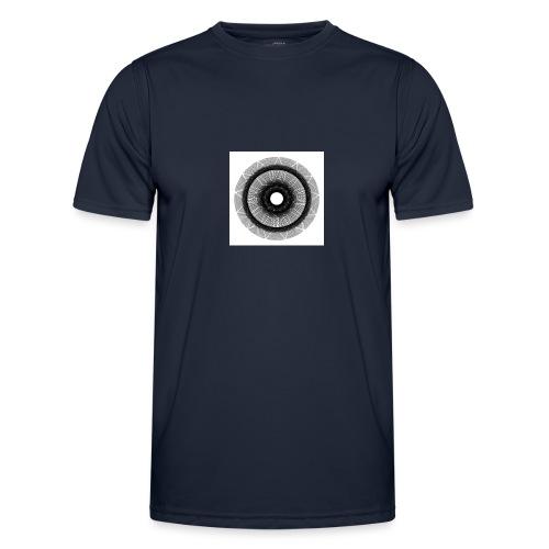 Mándala sol. - Camiseta funcional para hombres