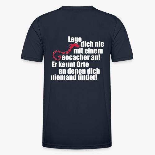 Leg' dich nicht mit uns an! - Männer Funktions-T-Shirt