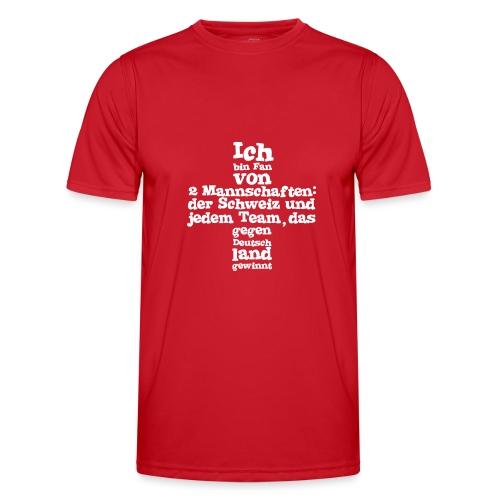 Fan von zwei Mannschaften - Männer Funktions-T-Shirt
