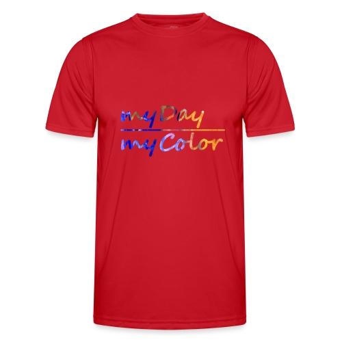 myDay Schriftzug - Männer Funktions-T-Shirt
