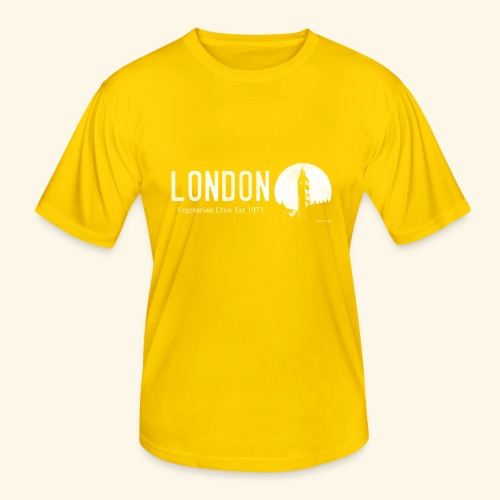 London Vegetarian Crew - Men's Functional T-Shirt