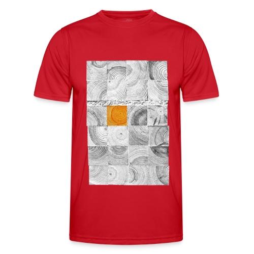 Cubes de Bois - T-shirt sport Homme