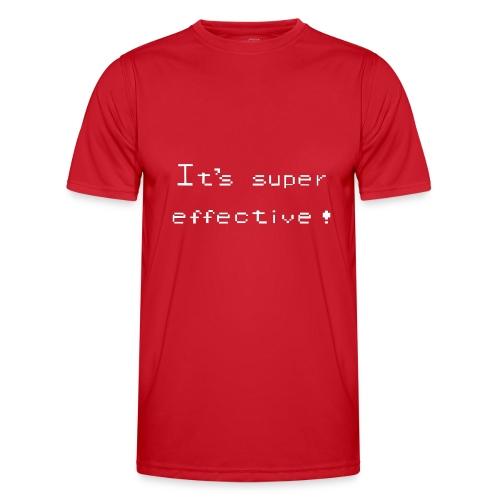 its super effective white - Funktionsshirt til herrer