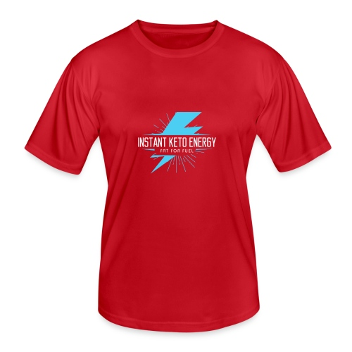 instantketoenergy - Männer Funktions-T-Shirt