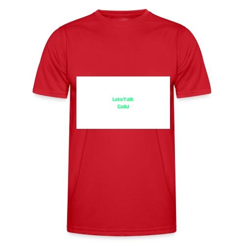 LetsTalk ColU - Men's Functional T-Shirt