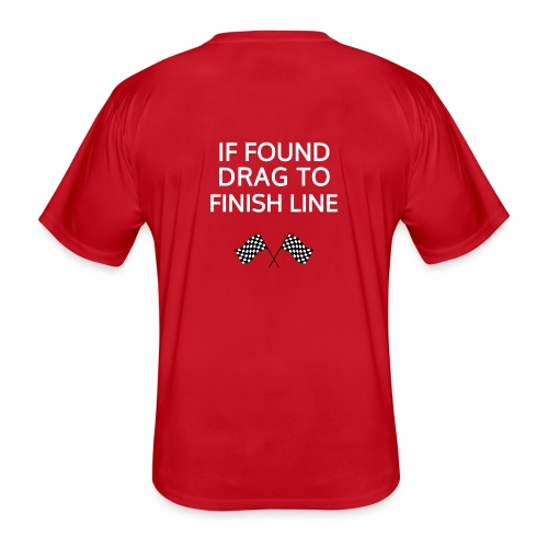 If found, drag to finish line - hardloopshirt - Functioneel T-shirt voor mannen