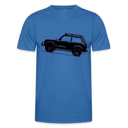 Lada Niva 2121 Russin 4x4 - Männer Funktions-T-Shirt