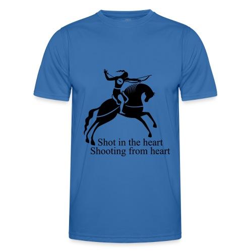 Shot in the Heart - Men's Functional T-Shirt