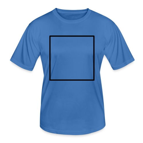 Square t shirt black - Functioneel T-shirt voor mannen