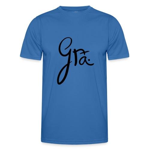 logo-trans-ai - Functioneel T-shirt voor mannen