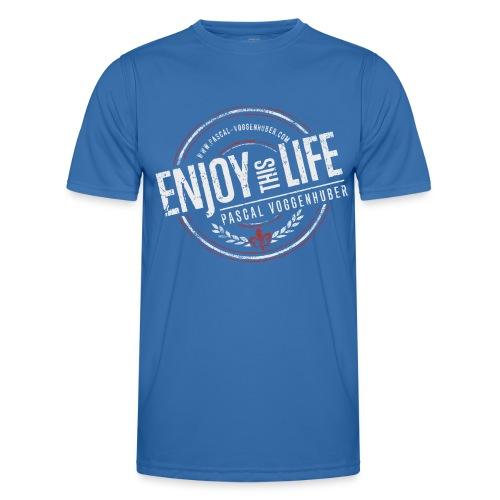 Enjoy this Life® & Fleur de Lys Pascal Voggenhuber - Männer Funktions-T-Shirt