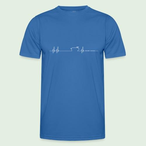Herzschlag - Männer Funktions-T-Shirt