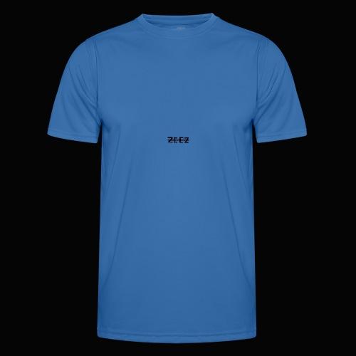 zeez poilu noir sur coté - T-shirt sport Homme