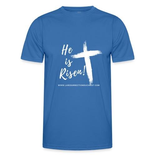 He is Risen ! V2 (Il est ressuscité !) - T-shirt sport Homme
