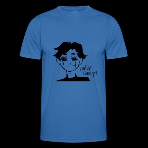 Feeling Vulnerable - Functioneel T-shirt voor mannen
