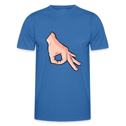 The Circle Game Ok Emoji Meme - Men's Functional T-Shirt