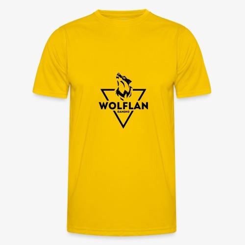 WolfLAN Gaming Logo Black - Men's Functional T-Shirt