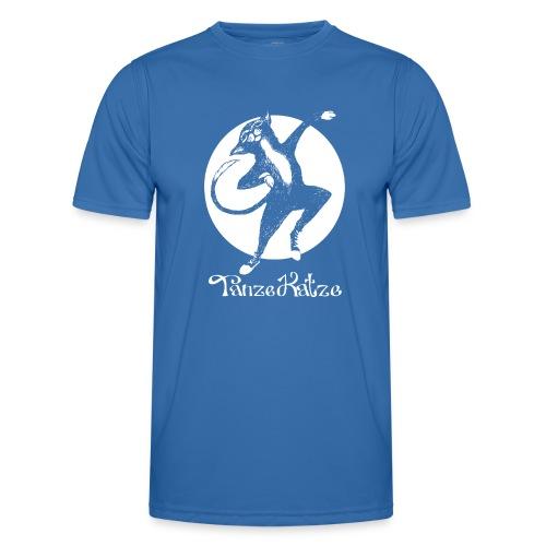 TanzeKatze - Männer Funktions-T-Shirt