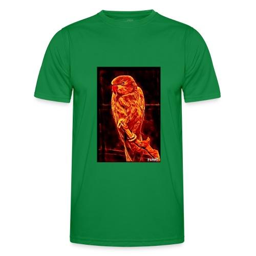 Bird in flames - Miesten tekninen t-paita