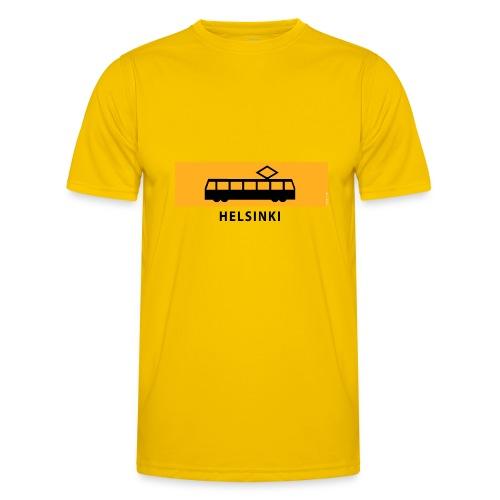 RATIKKA PYSÄKKI HELSINKI T-paidat ja lahjatuotteet - Miesten tekninen t-paita