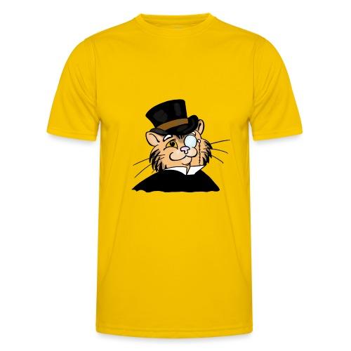 Gatto nonno - Maglietta sportiva per uomo