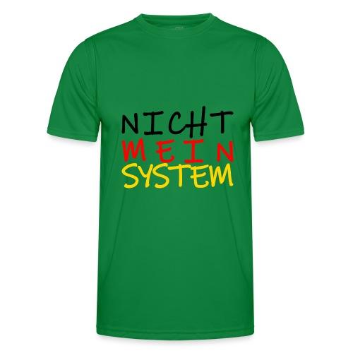 NICHT MEIN SYSTEM - Männer Funktions-T-Shirt