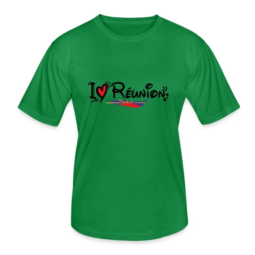 i love Réunion - MAHAVELI - T-shirt sport Homme