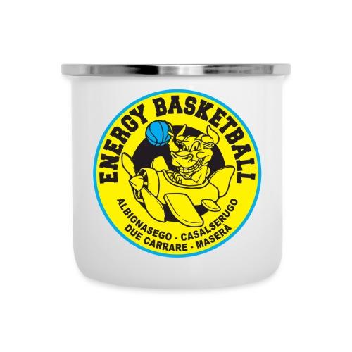 home collection energy basketball - Tazza smaltata