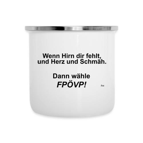 FPOeVP - Emaille-Tasse