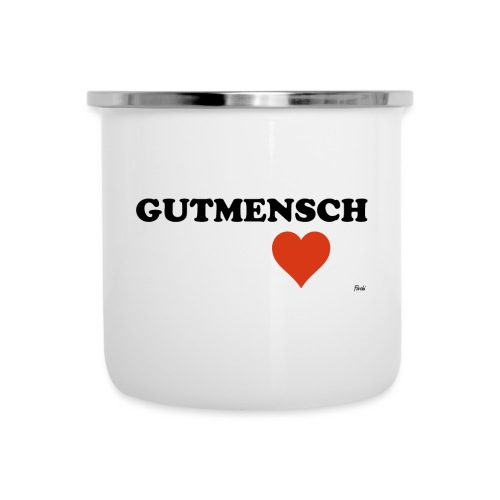 gutmensch - Emaille-Tasse
