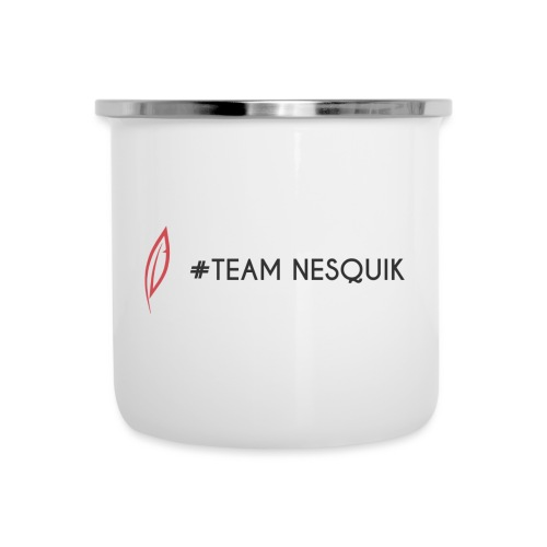 Logo - Team Nesquik - Tasse émaillée
