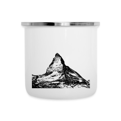Swiss Alps - Emaille-Tasse