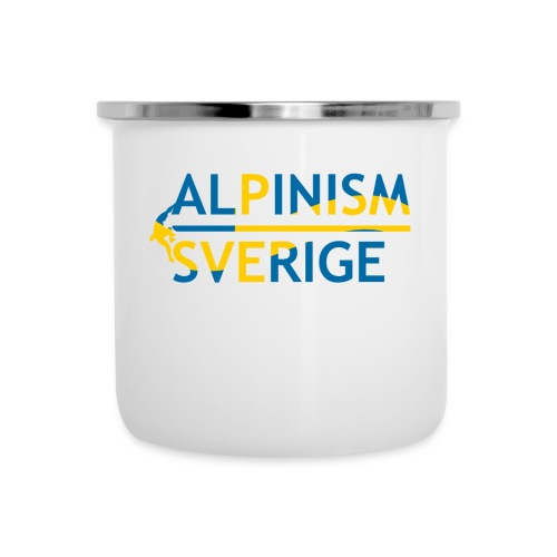 Alpinism Sverige - Emaljmugg