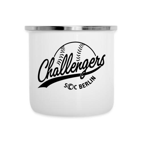 Challengers Logo - Emaille-Tasse