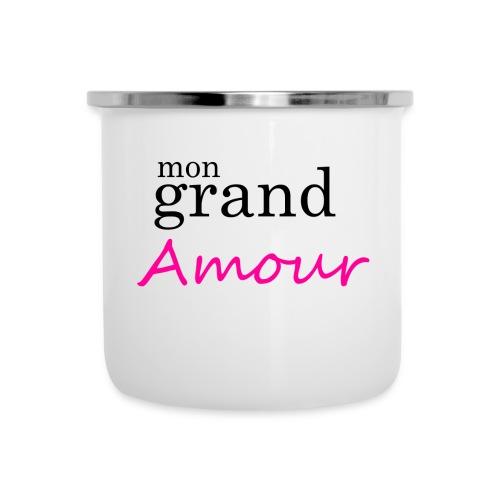 Mon grand amour - Tasse émaillée