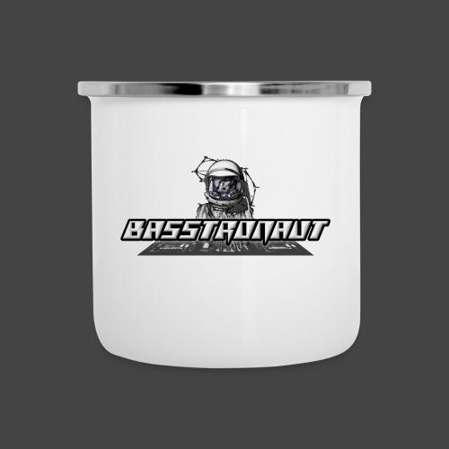 Bassphemie - Basstronaut Logo - Emaille-Tasse