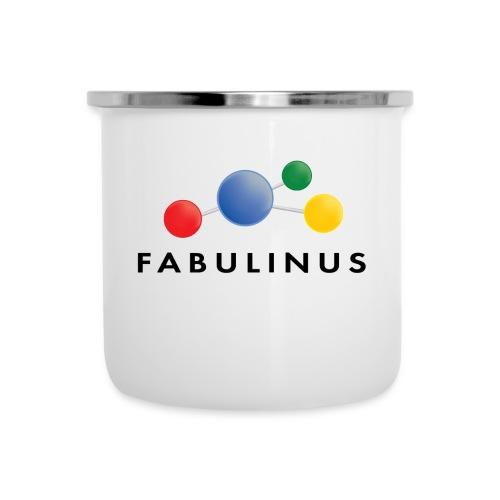 Fabulinus Zwart - Emaille mok