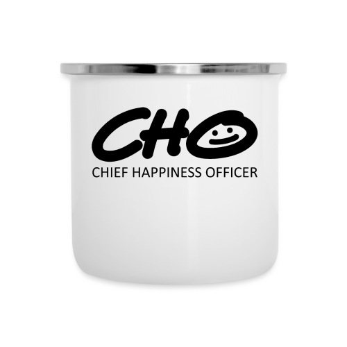 Chief Happiness Officer - Emaille-Tasse
