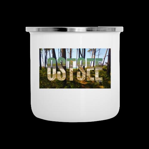 Ostsee - Emaille-Tasse