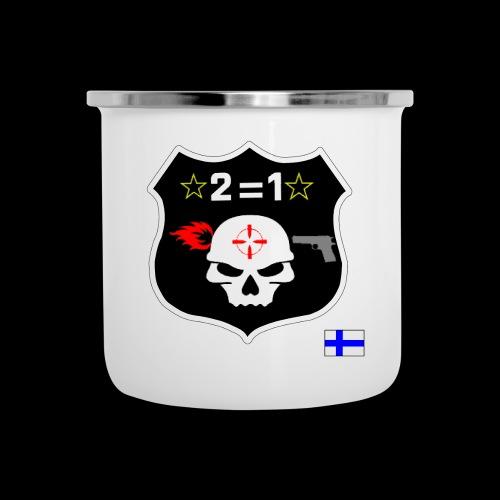 Paita logo selkä VÄRILLINEN png - Emalimuki