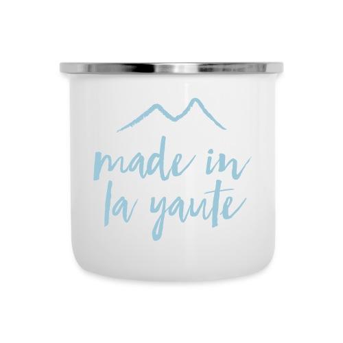 Made in la yaute - Tasse émaillée