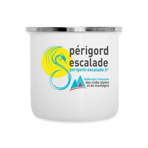 Périgord Escalade - Tasse émaillée