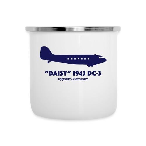 Daisy Silhouette Side 2 - Emaljmugg