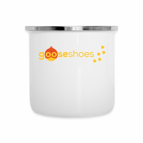 gooseshoes 01 - Emaille-Tasse