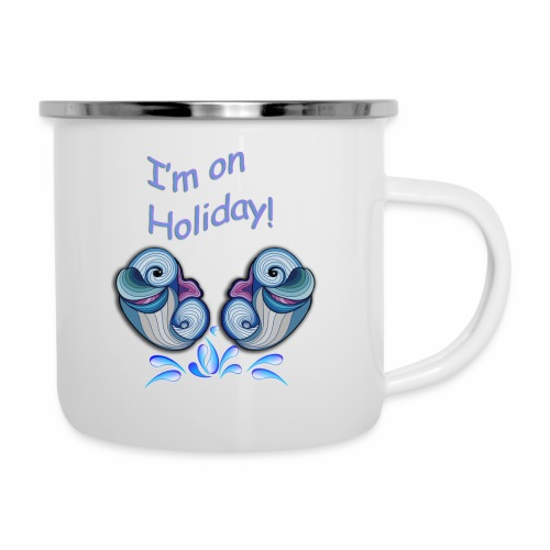 I'm on holliday - Camper Mug