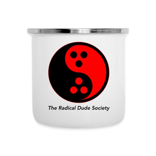 The Radical Dude Society - Emaille-Tasse