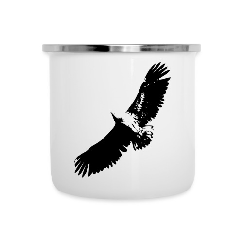 Fly like an eagle - Emaille-Tasse